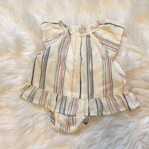NWT baby Gap 2 piece set girls 3-6 months